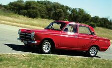 Car Poster Ford Cortina Mk1 in action Automobilia Automobiles