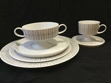 Rosenthal Germany Filigree 6 Pc Place Setting Dinner Plate Salad Soup & Tea Cup