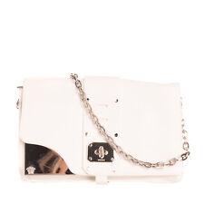 RRP€1975 VERSACE Leather Crossbody Shoulder Bag Medusa Logo Chain Strap Turnlock