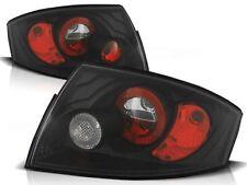 BLACK REAR TAIL LIGHTS LTAU08 AUDI TT 1999 2000 2001 2002 2003 2004 2005 2006