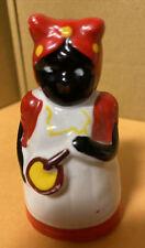 Vintage Black American Lady Chef Cook Ceramic Bell Rare