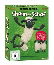 4 DVDs * SHAUN DAS SCHAF - SPECIAL EDITION 4 - STAFFEL 4 # NEU OVP $