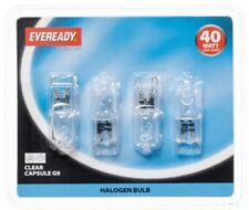 New Eveready Halogen G9 40W Capsule Light Bulbs 4pk Best energy saving LED light