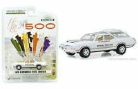GREENLIGHT 1:64 1970  WHITE OLDSMOBILE VISTA CRUISER 54TH INDY 500 CAR 30049