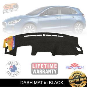 DASH MAT Hyundai i30 Hatch PD SR Premium Active MY18 DM1470 3/2017-2021 in Black