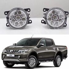 MITSUBISHI TRITON L200 ML/MN 6000k HIGH POWER FULL LED FOG DRIVING LIGHTS 2006+