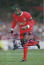 Emile Heskey Hand Signed Liverpool 12x8 Photo.