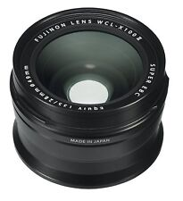 Fujifilm Wide Conversion Lens WCL-X100 II for X100/X100S/X100T/X100F Black