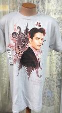 Twilight Breaking Dawn Ed Cullen Lt Gray T-Shirt- Size MED- FREE S&H (TWTS-006)