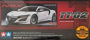 Tamiya 1/10 Honda NSX 4WD Touring/Drift Kit - TT02 Chassis #58634 Factory Sealed