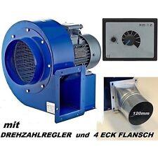 TURBO Zentrifugal Radialgebläse Radialventilator Radiallüfter 1850m³/h 230V