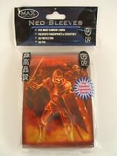 Max Protection Neo Sleeves Skeleton Soldier 50 Count 7060 MSY2 Near Mint Fast Sh