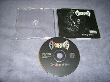 AMORPHIS-PRIVILEGE OF EVIL therion,carbonized,entombed 1993 RELAPSE ORG!