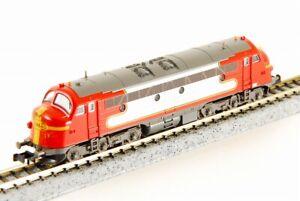 "KATO N-Scale K2885 STRABAG ""Santa Fe"" 1125 Nohab Diesel Locomotive made in JAPAN"