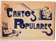 España Cantos Populares Regionales libro de 84 Paginas (DT-607)