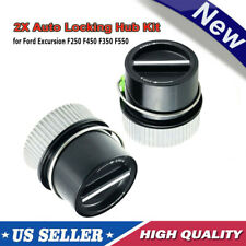 2pcs For 99-04 Ford Super Duty 4x4-Automatic Front Lockout-Auto Locking Hub Lock