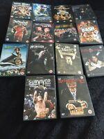 WWE Complete 2008 DVD Set Of 14 Wrestlemania 24 Royal Rumble Summerslam Look!