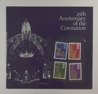 GREAT BRITAIN 25TH ANNIVERSARY OF THE CORONATION LOT 502