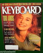 1992 KEYBOARD Magazine TORI AMOS Plays NIRVANA Peavey DPM C8 Akai MX1000 Reviews