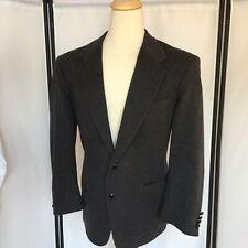 Christopher Hayes Mens 44R Gray Blazer Pure Camel Hair Sport Coat Retails $295