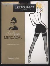 NEUF LE BOURGET COLLANT GILDA 20D NOIR / ROSE TAILLE 2 MERCADAL couture arrière