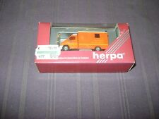 HERPA MB SPRINTER RTW  CAMION POMPIERS 1:87 / NEUF DANS EMBALLAGE D'ORIGINE