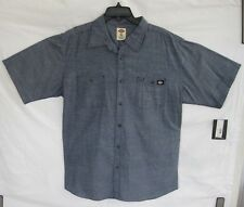 NWT DICKIES SHIRT CLASSIC FIT 100% COTTON EXCLUSIVE STYLE PRINTED DENIM SIZE  XL