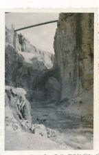 Snapshot Constantine Le Rhummel le pont naturel Sidi M'Cid au-dessus rivière