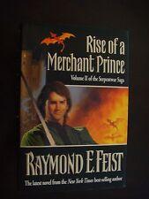 Raymond E. Feist - Rise of a Merchant Prince HC w/DJ Fine 1st Ed Serpentwar Saga