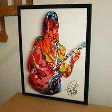 Mick Ronson Mott the Hoople Guitar Glam Rock Music Poster Print Wall Art 18x24