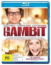 *New & Sealed*  GAMBIT  (Blu-ray, 2013) Alan Rickman, Cameron Diaz, Colin Firth.