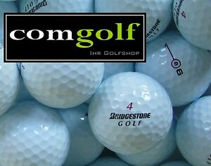 "50 Bridgestone e6 / e 6 + ° AAAAA Qualität ° 5 Star °°° Lakeballs ""wie neu"""