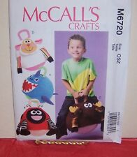 "Reduced!  McCall's 6720 Kids' Toys: 14"" Hopping Ball Cover Pattern"