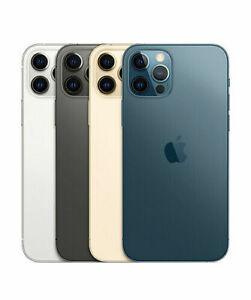 Apple iPhone 12 Pro Max Unlocked 128/256/512gb Silver/Pacific Blue/Gold/Graphite
