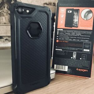 Apple iPhone 8 Urban Element Bumper Rugged Cover Displacement Case Black
