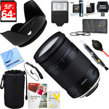 Tamron 18-400mm f/3.5-6.3 Di II VC HLD Lens for Nikon Mount + 64GB Ultimate Kit