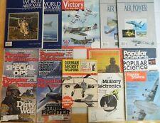MILITARY/AVIATION LOT/INTERNATIONAL AIR POWER REVIEW/WORLD AP JOURNAL/VINTAGE