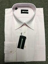 "Pierre Cardin Cotton Formal Shirt/Pink - 16"" HALF PRICE"