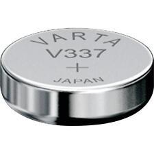 Varta 1 Pile oxyde argent V337   SR416SW    337 1,55V