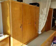Schlafzimmer komplett massiv Holz Kirsch gebraucht Retro Vintage 50er oder älter