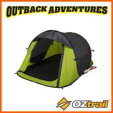 OZTRAIL BLITZ 2 POP UP TENT 2 PERSON INSTANT QUICK PITCH SMALL TENT
