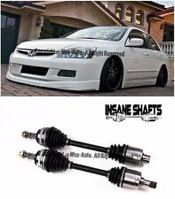 For 03-07 Honda Accord V6 3.0L Insane Shafts Axles 500HP Rated