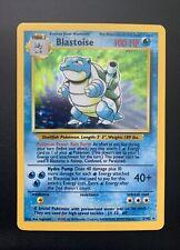 Pokemon Base Set 1999 #2/102 Holo Blastoise Amazing/Mint Condition