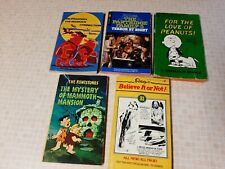 Lot Of 5 Vintage Softcover Books