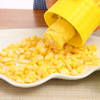 Compact Corn Stripper Cob Peeler Kernel Thresher Remover Kitchen Tool