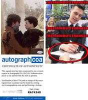 "FINN WITTROCK signed Autographed ""JUDY"" 8X10 PHOTO C - EXACT PROOF - ACOA COA"