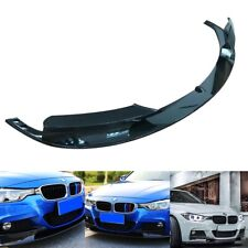 Carbon Fiber Front Bumper Spoiler Cover Lip For 2012-18 BMW F30 3 Series M Style