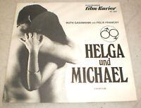 FILM KURIER,PROGRAMM,HELGA UND MICHAEL,RUTH GASSMANN,FELIX FRANCHY