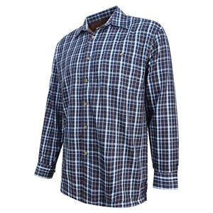 Hoggs of Fife - Bark Micro Fleece Lined Shirt