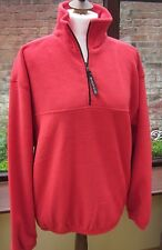 Jerzees  Red  Fleece  Jacket LARGE 40/42 UNISEX ***FREE POST ***